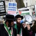 تظاهرات احتجاجية ضد زيارة نتنياهو