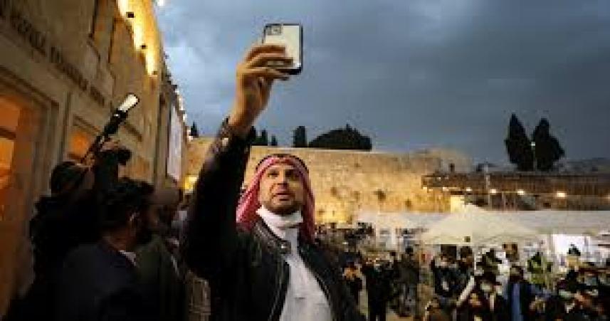 المطبعون الاماراتيون في القدس المحتلة