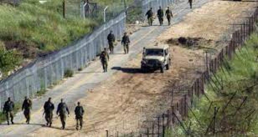 جيش العدو على الحدود مع لبنان