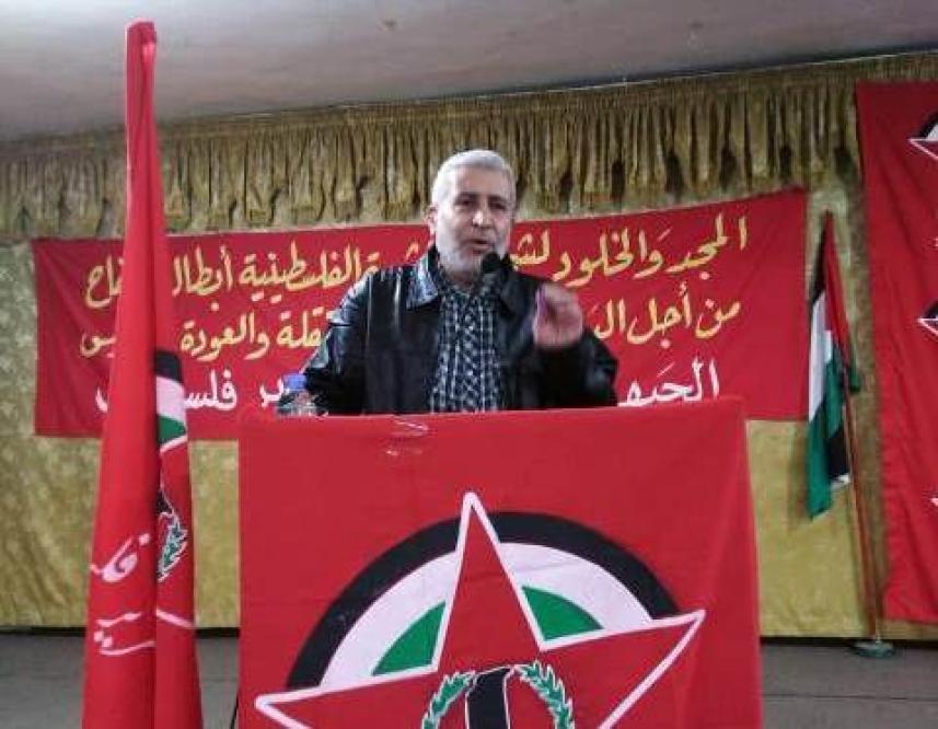 عضو قيادة الساحة اللبنانية في حركة الجهاد الإسلامي أبو سامر موسى