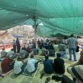 خيمة الاعتصام بسلوان