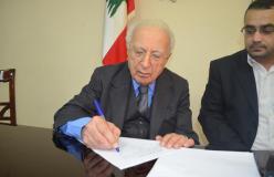 وكالة القدس للأنباء توقع على الميثاق الشرف الاعلامي في بيروت