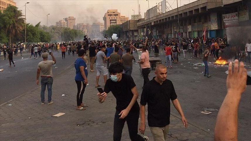 استئناف الاحتجاجات في العراق