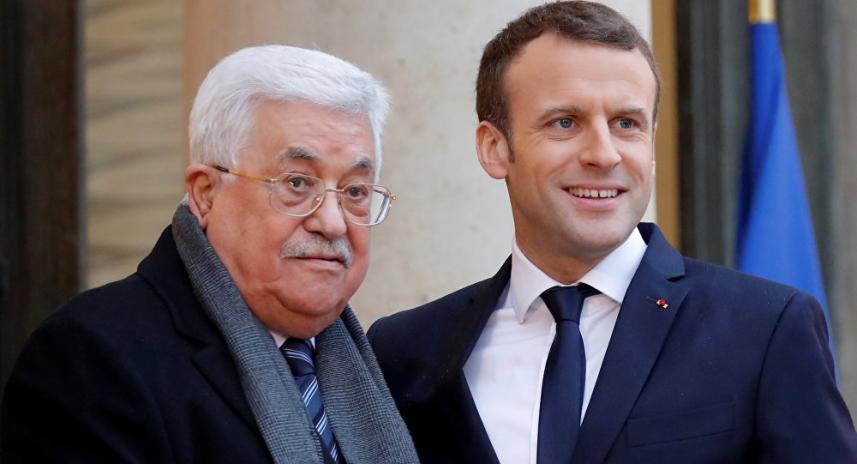 عباس وماكرون