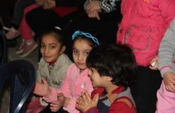 كوكبة من أطفال عين الحلوة تزين احتفال كشافة بيت المقدس بذكرى تأسيسها