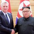 زعيما كوريا الشمالية وكوبا