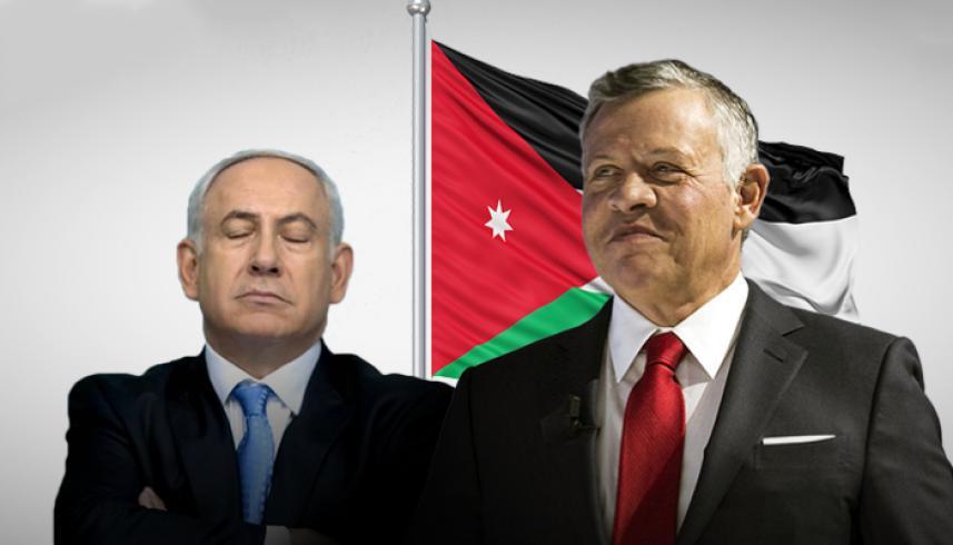 إلغاء اتفاقية السلام مع الأردن