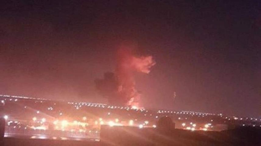 إنفجار في مصنع بتروكيماويات