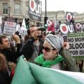 وقفة تضامنية مع الشعب الفلسطيني