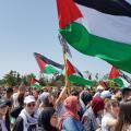 مسيرة في الداخل الفلسطيني المحتل