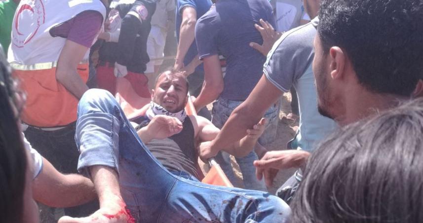 إصابات في مواجهات غزة