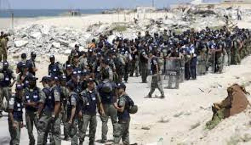 الانسحاب الصهيوني من غزة