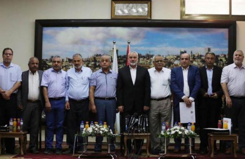 القوى الفلسطينية