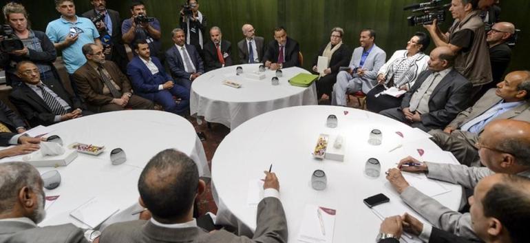 المفاوضات اليمنية الأول