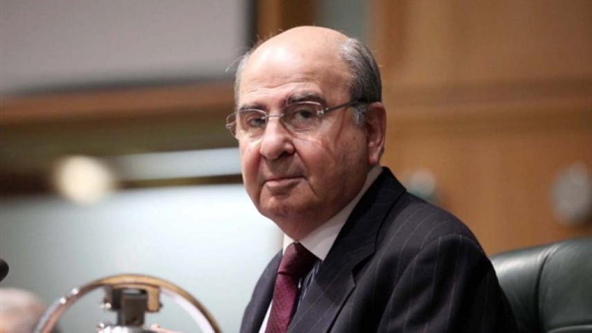 رئيس الوزراء الأردني الأسبق  طاهر المصري