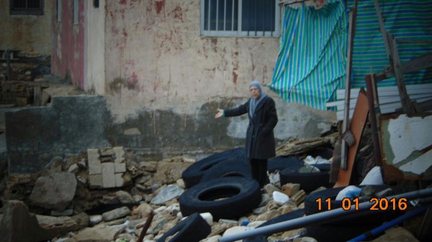 أضرار العاصفة (4)