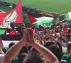 اعلام فلسطينية في ملاعب اسكتلندية