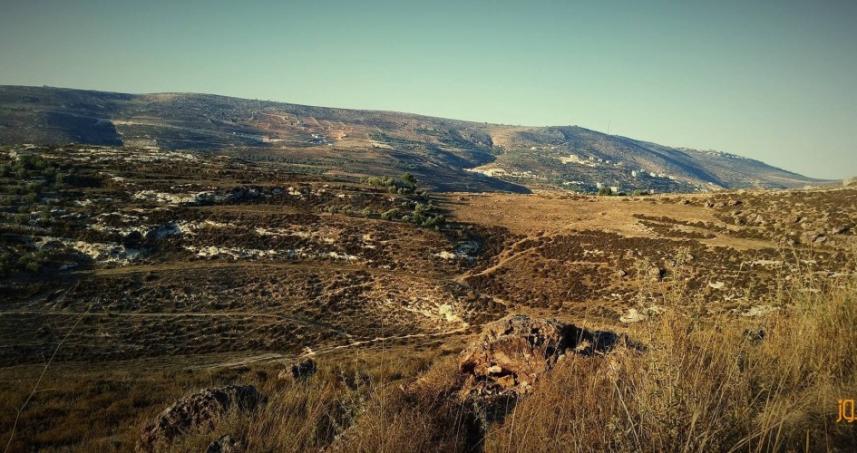 مصادرة أراضي في نابلس