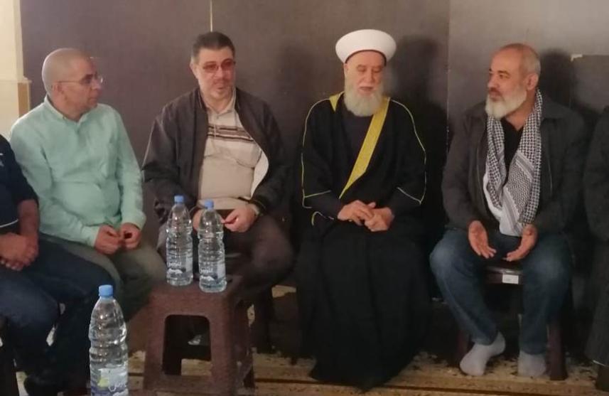 قيادات الفصائل الفلسطينية والقوى الاسلامية