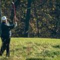 ترامب الهارب غلى ملعب الغولف