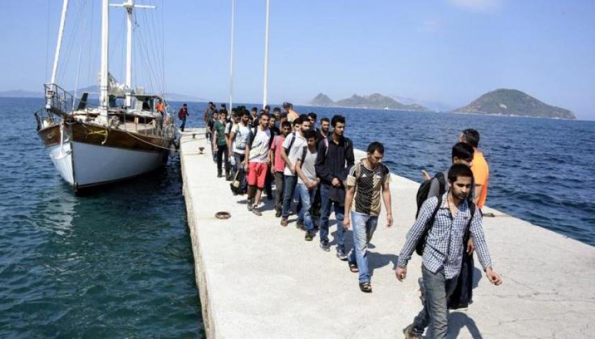 خفر السواحل التركي يضبط 43 مهاجرًا
