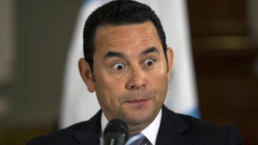 رئيس غواتيمالا جيمي موراليس