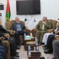 وفد من حماس يهنئ قيادة الجهاد الاسلامي