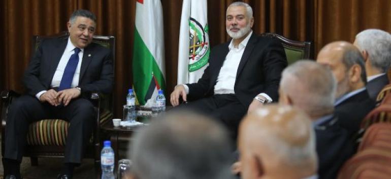 مصر جمدت جهودها لإنجاز المصالحة الفلسطينية