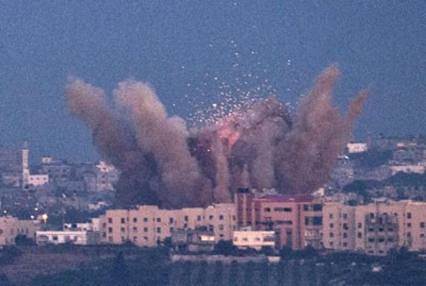 عدوان متواصل على قطاع غزة