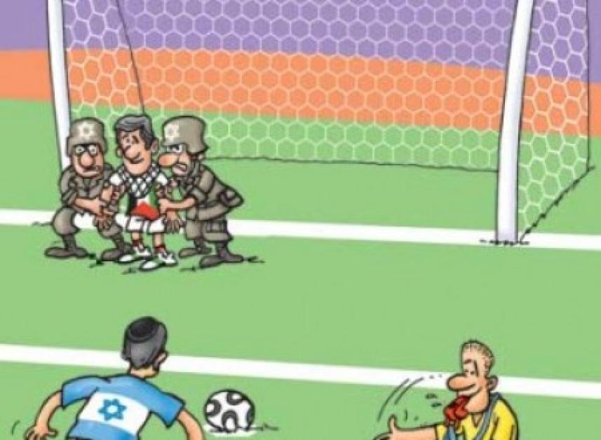 واقع الراياضة الفلسطينية في صورة