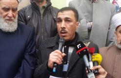 الجهاد الإسلامي تنظم وقفة تضامنية  مع الأسرى في مخيم الجليل