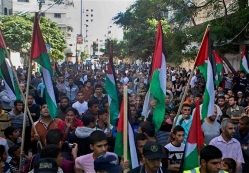 مسيرات شعبية سلمية