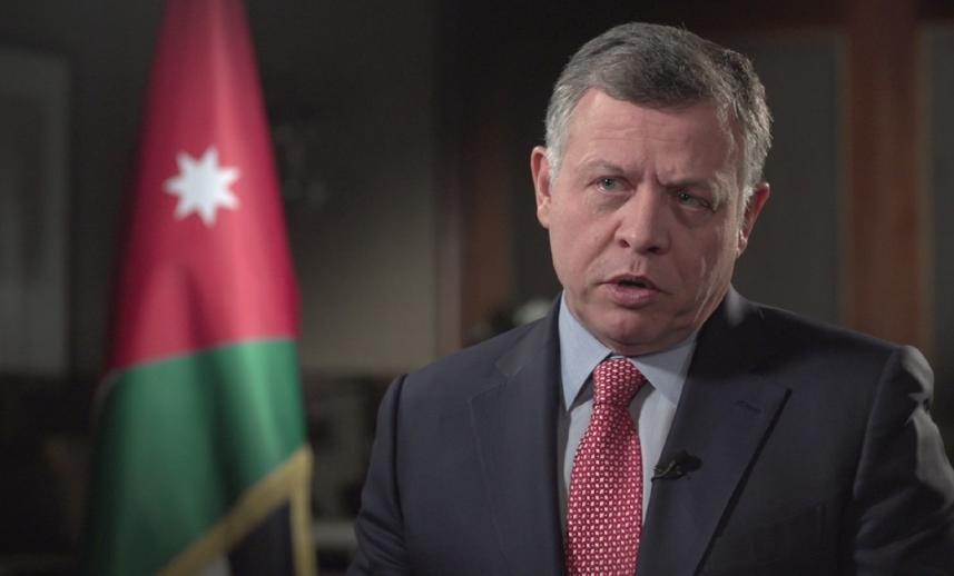 الملك الأردني