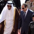 السيسي يلتقي العاهل السعودي وولي عهده