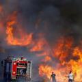 اندلاع الحرائق في مستوطنات غلاف غزة