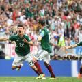 جانب من مباراة ألمانيا - المكسيك