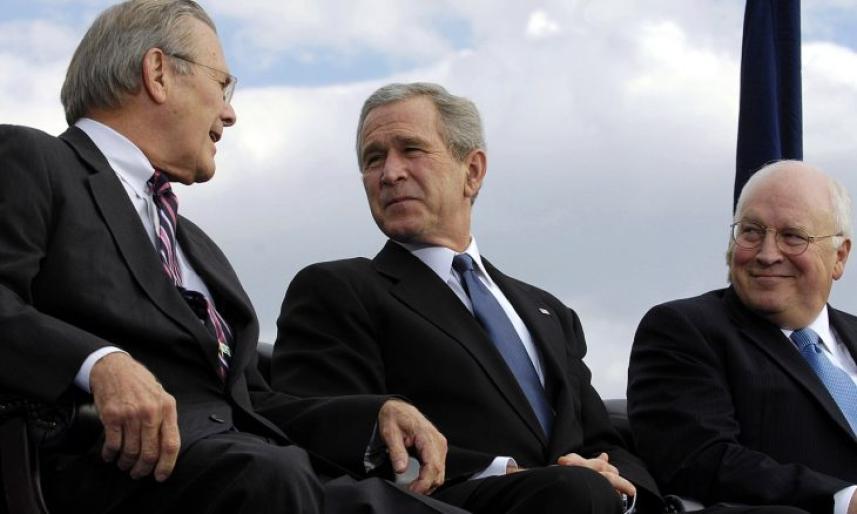 بوش الأب والإبن ونائب الأب ديك تشيني