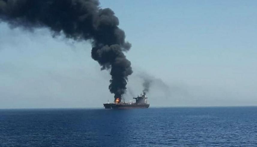 تل أبيب أبلغت ةواشنطن أنها ضربت السفينة الإيرانية