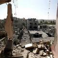 بيوت غزة المدمرة
