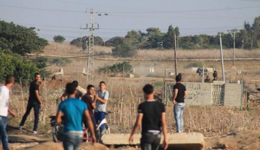 المواجهات على حدود غزة