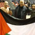 الملاكم الفلسطيني خالد المقدح