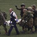 نقل جندي اسرائيلي مصاب