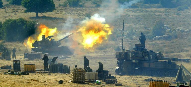 المدفعية الإسرائيلية (أرشيف)