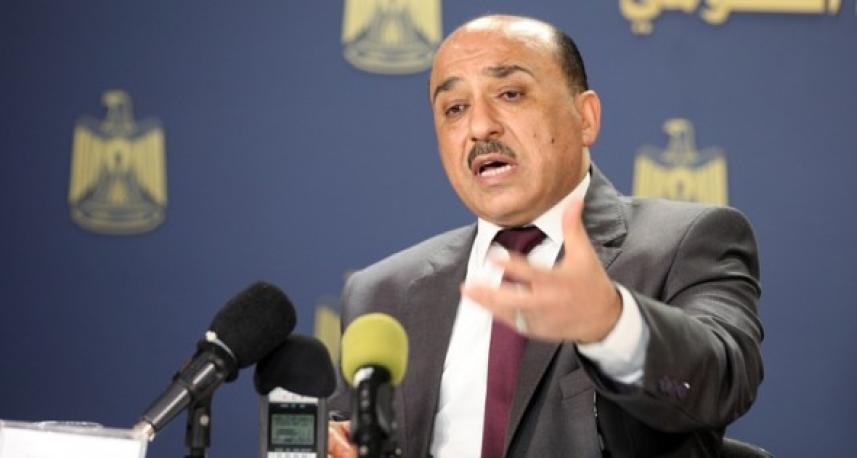 وزير الأشغال العامة والإسكان في حكومة الوفاق الوطني مفيد الحساينة