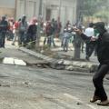خلال مواجهة شبان فلسطينيين مع الاحتلال