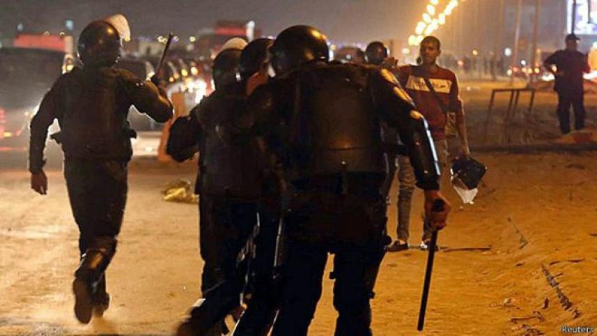 اشتباكات في القاهرة