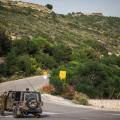 آلية للاحتلال الإسرائيلي - أرشيف