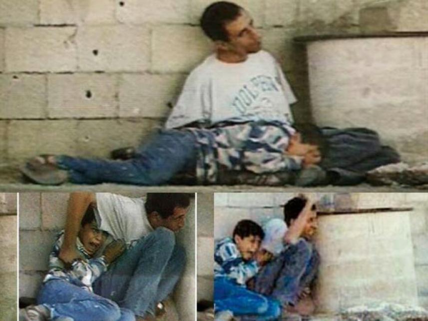 الشهيد محمد الدرة ووالده