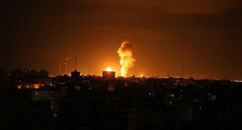 غارات على أهداف في غزة